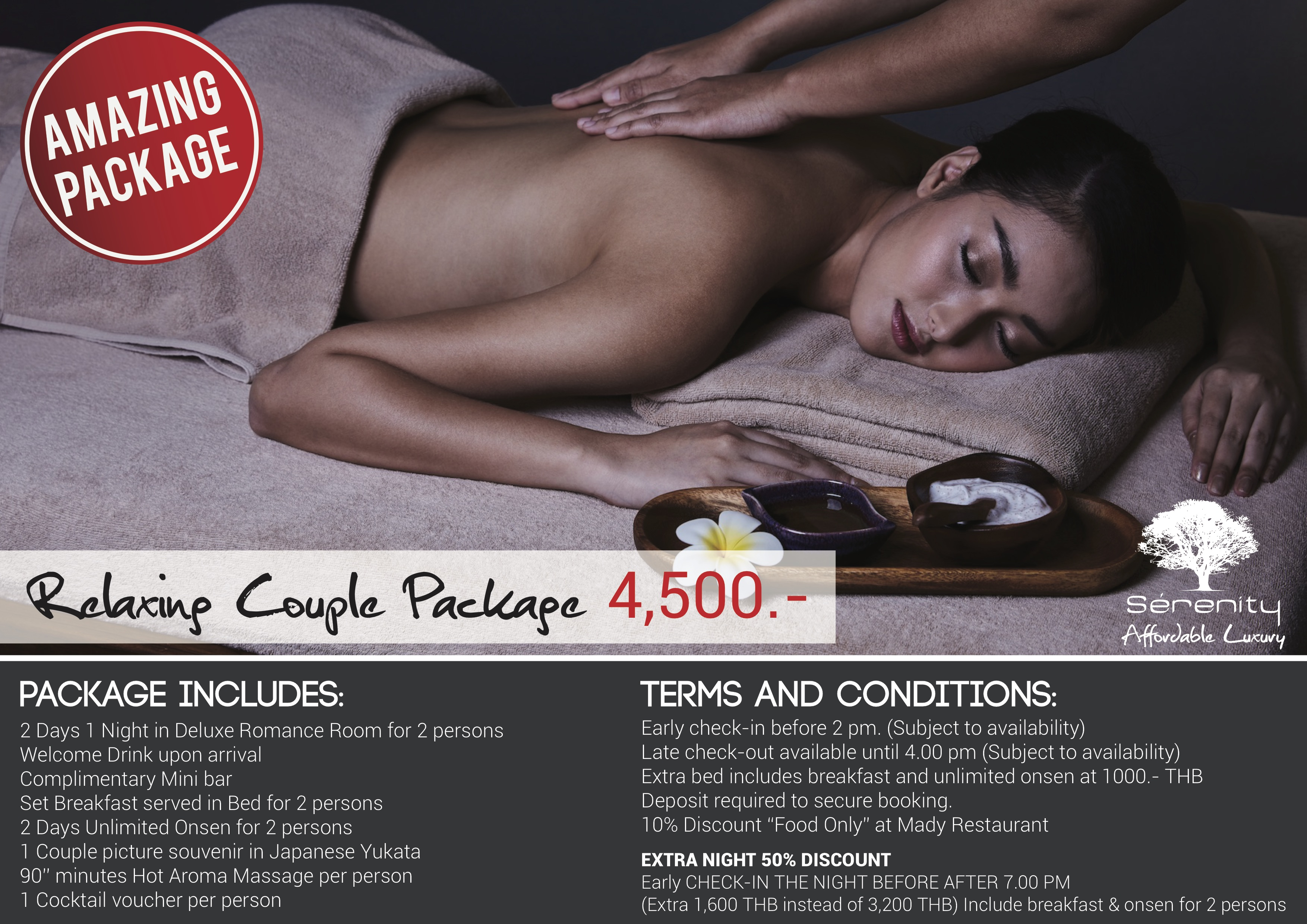 relaxing couple package details