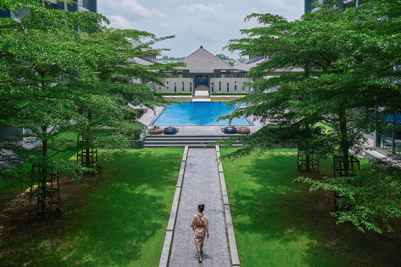 Serenity hotel Garden