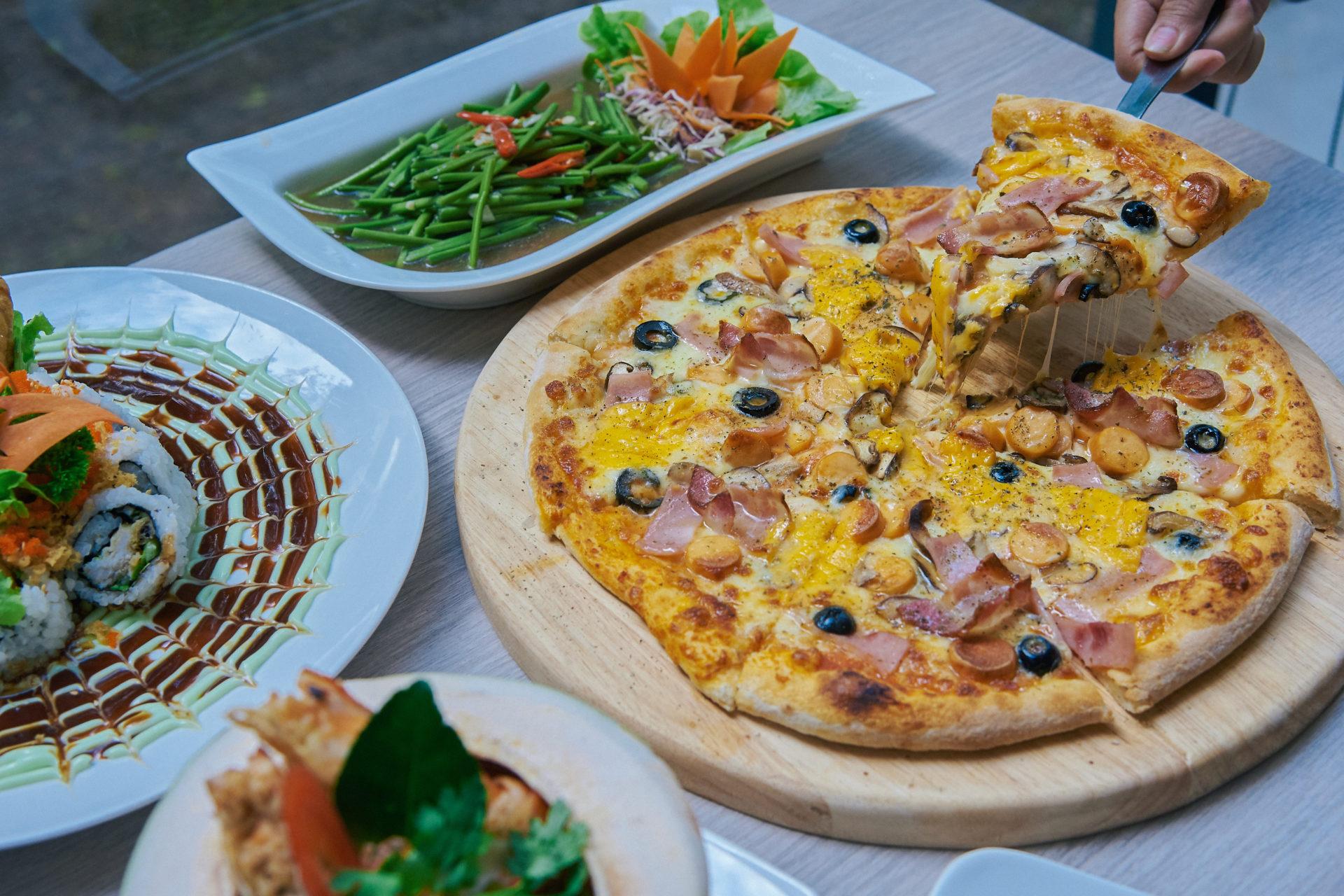 Serenity pizza
